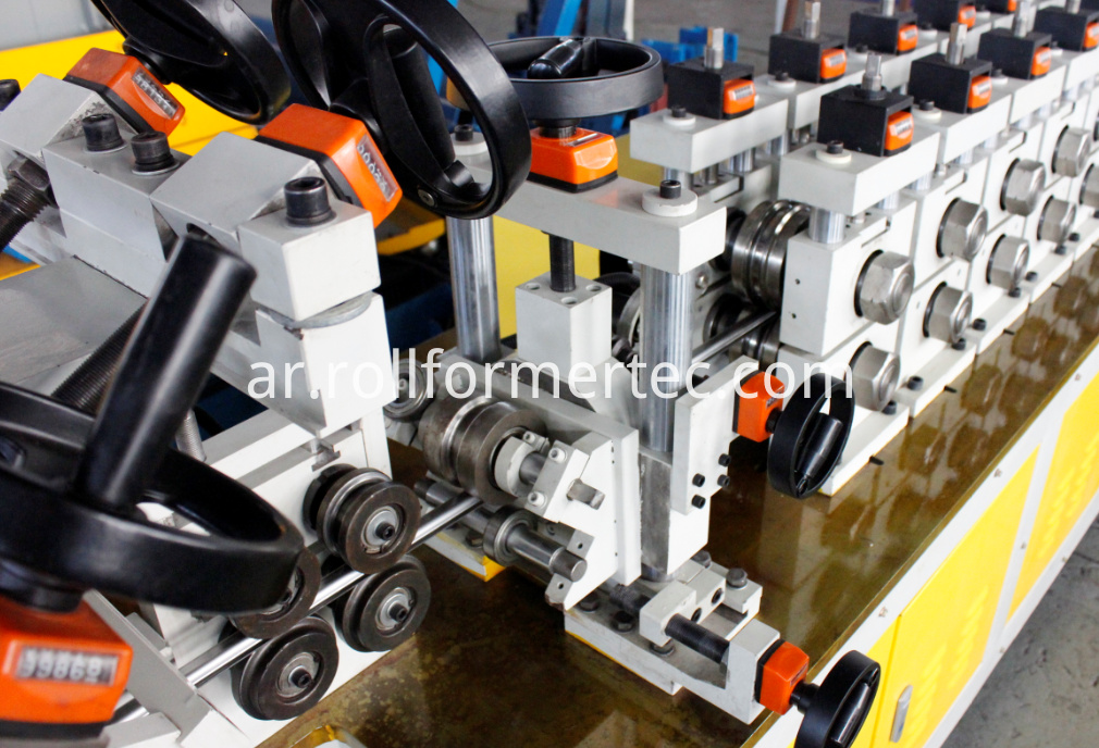 exhaust band clamps roll forming machine