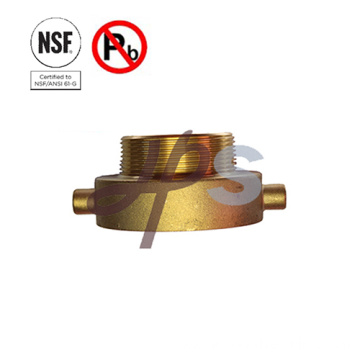 NSF Lead Free Brass Fire Hydrant Adapters for Fire Extinguisher System