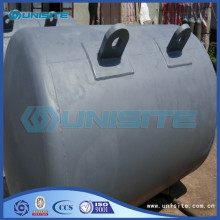 Steel anchor marine buoy