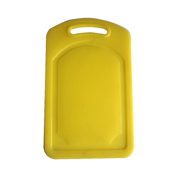 Easy to wash yellow pp chopping board