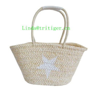 China Manufacture fashion straw tote bag handbag