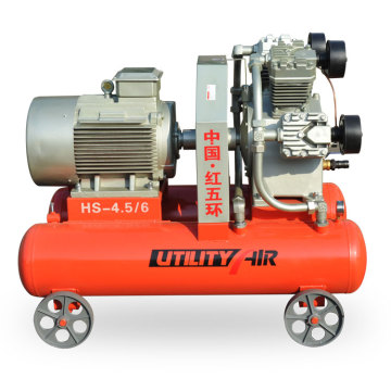 HS-4.5/6 electric 25kw 6bar piston air compressor