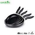 Aluminum Powder Coated Outer Inner Nonstick Fry Pan