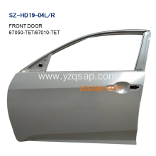 Popular Design for Honda Accord Door Replacement Steel Body Autoparts Honda 2017 CIVIC FRONT DOOR supply to India Exporter