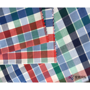 Multi Color Checked Apparel Fabrics