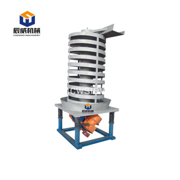 Stainless steel vibratory spiral elevator