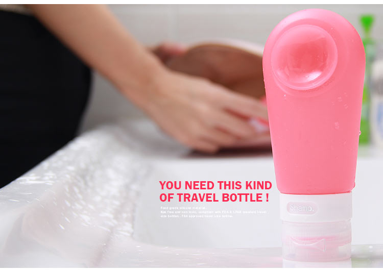 Squeezy Travel Bottles 100ml