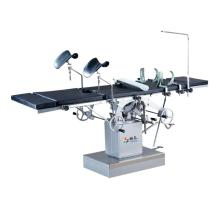 Lateral operated comprehensive operating table