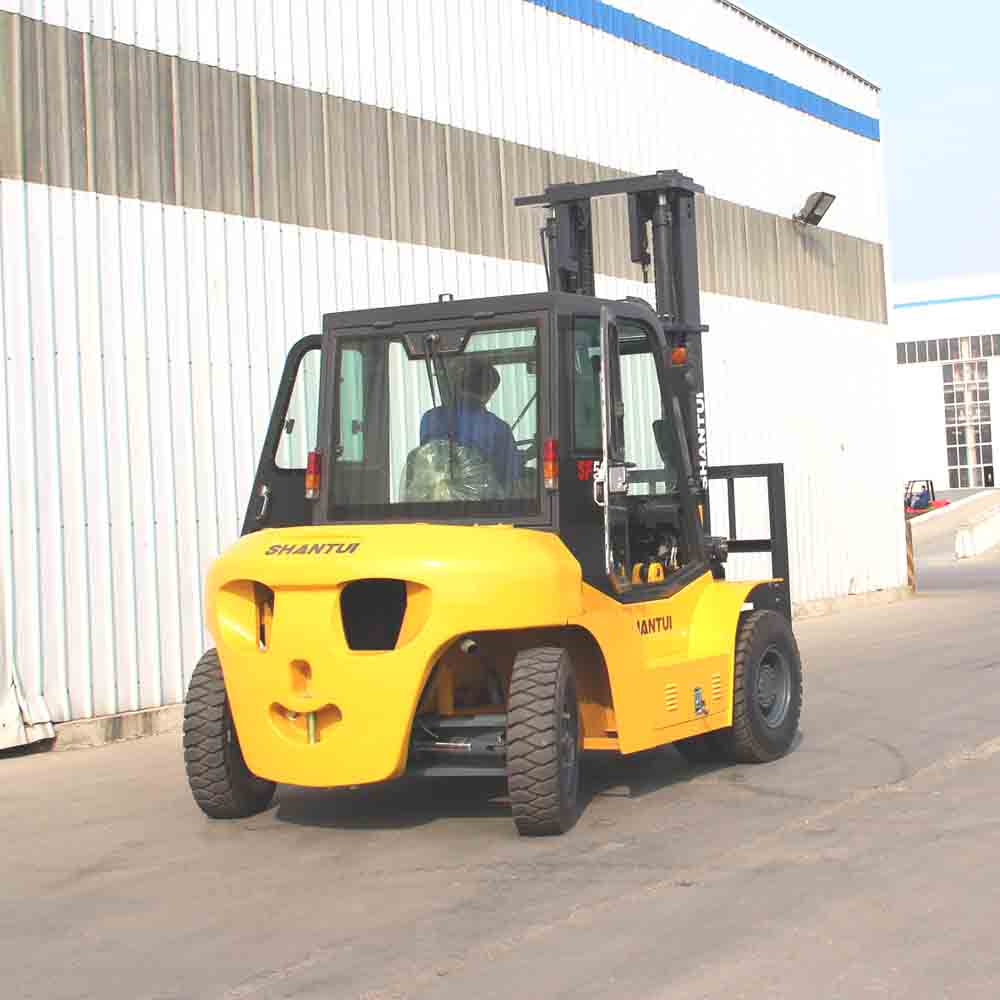 5 Ton Diesel Forklift with Cab