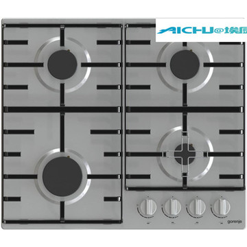 Cooking On a Gas Stove 4 Burners GasCooker