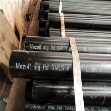 Black lacquer carbon steel seamless pipe