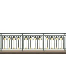 Golden Bee Aluminum Balcony Fence