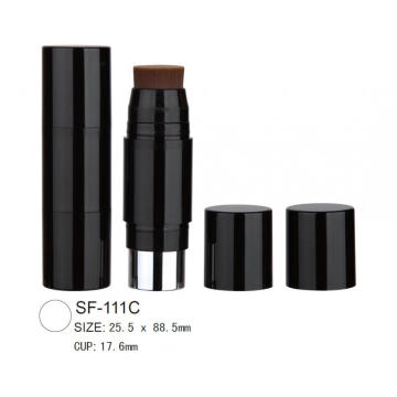 Plastic Round Cosmetic Foundation Stick Case