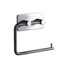 Toilet Stainless Steel Perforated Paper Towel Hooks