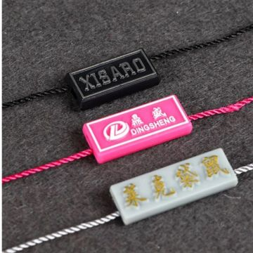 Fashion  Plastic Hanging String Tag