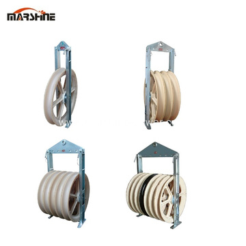 Large Diameter Conductor Pulley Block