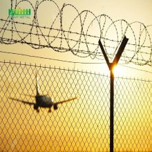 Security welded airport fence