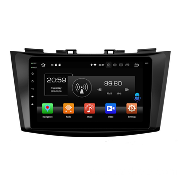 car dvd multimedia player per SWIFT 2013-2016