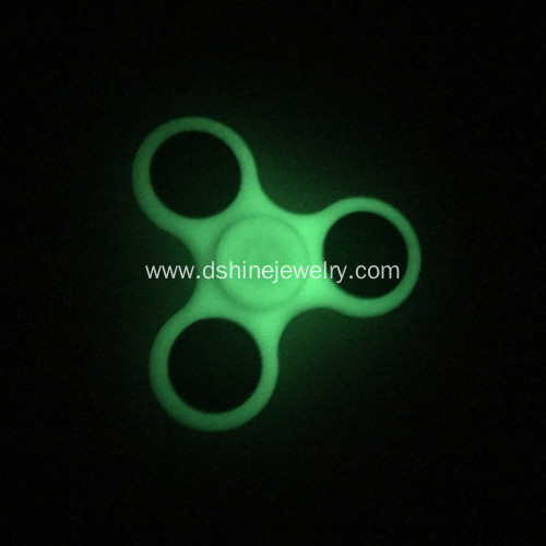 Fidget Spinner Anxiety Toys glow in the dark Hand Spinners