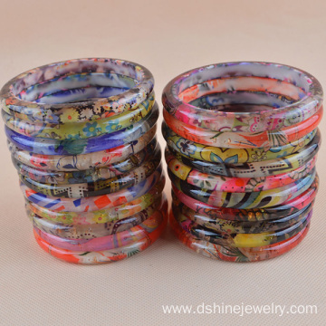 Fast Delivery for China supplier of Plastic Bangle, Colorful Plastic Bangle, Plastic Craft Bangles Plastic Bangle With Patterns Printed Resin Bangles For Women export to Slovakia (Slovak Republic) Factory