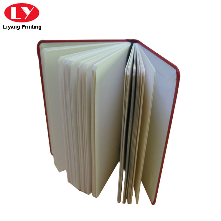 Red Pu Paper Notebook