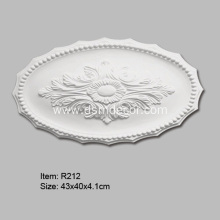 PU Oval Ceiling Medallion