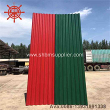 Save-cost Anti-corrosion Cold-resistant MgO Corrugated Sheet