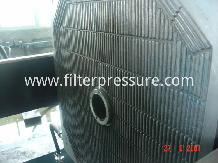 iron cast filter press
