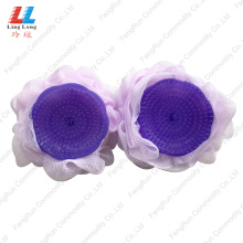 China Gold Supplier for for Mesh Bath Sponge Comb Brush PE Sponge shower bath products export to Italy Manufacturer