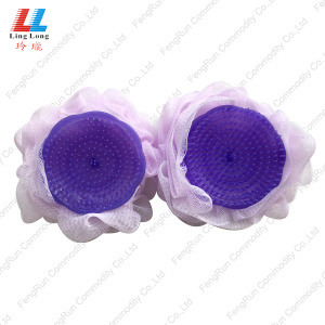 Special for China Mesh Bath Sponge,Loofah Mesh Bath Sponge,Mesh Bath Sponge Supplier Comb Brush PE Sponge shower bath products supply to Armenia Manufacturer