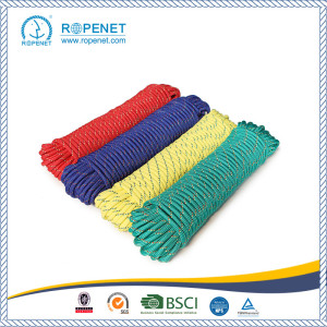 factory low price for Custom Diamond Braid Rope Multifunctional Polypropylene Braided Rope For Sales export to France Metropolitan Factory