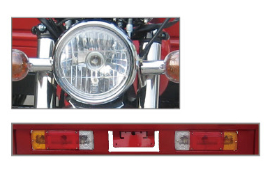 Cheap Cargo Tricycle Drum Brake Light Jiangmen