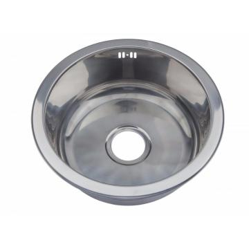 Kitchen Stainless Steel Single Round Sink Products