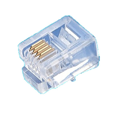 Crystal Unshielded Modular Plug 6P4C