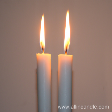 Lighting church candle white stick candle factory
