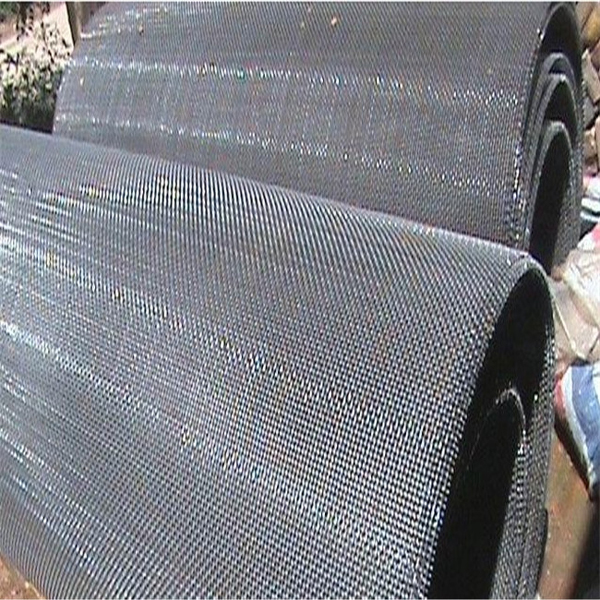 crushing crimped wire mesh screen