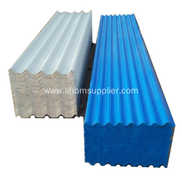High Strength Durable Insulating Soundproof MgO Roof Tiles