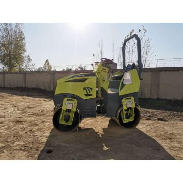 Ride on hydraulic vibrating diesel engine road roller machine SVH-1500