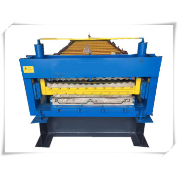 Double deck jch manual roof tile making machine
