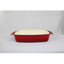 Cast Iron Baking Dish for cooking