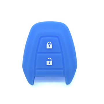 Silicone car key cover Suzuki 2 buttons