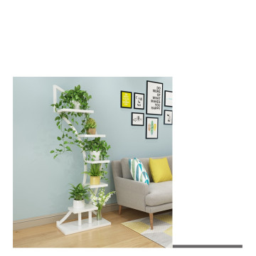 Firm Solid Wooden Flowerpot Shelf