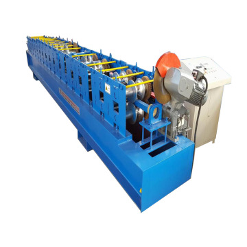 Round Metal Gutter Downspout Roll Forming Machine
