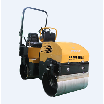 Two Wheel Static Road Roller 2 Tons Capacity