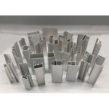 Window extruded aluminum hinge profile