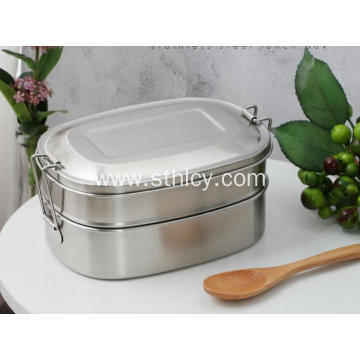 Stainless Steel Lunch Box Travel Bowl