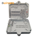16 Core Outdoor Waterproof Plastic Fiber Optic Distribution Box for PLC Splitter