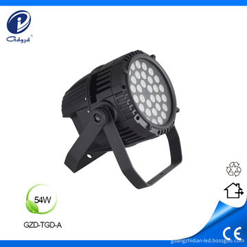 Drum type aluminum outdoor 54W spot lighting