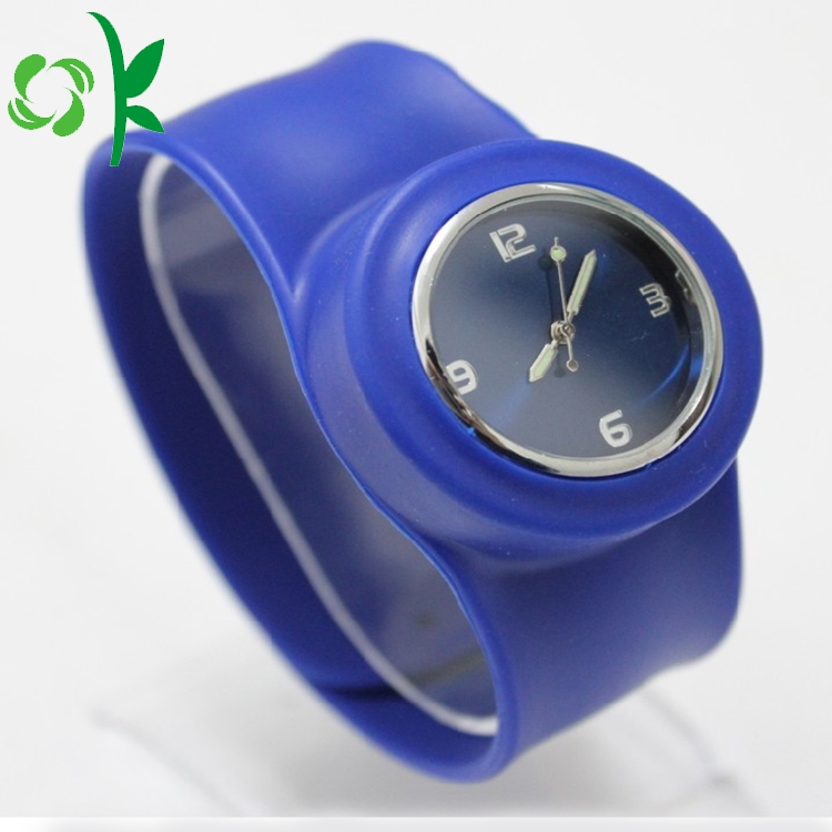 Silicone Slap Band With Watch 4