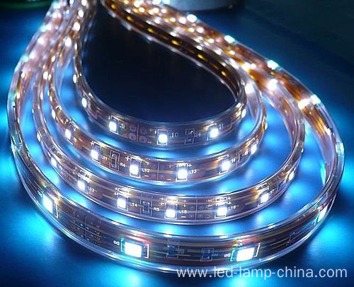 White Color Decoration Side View SMD 3014 LED Strip